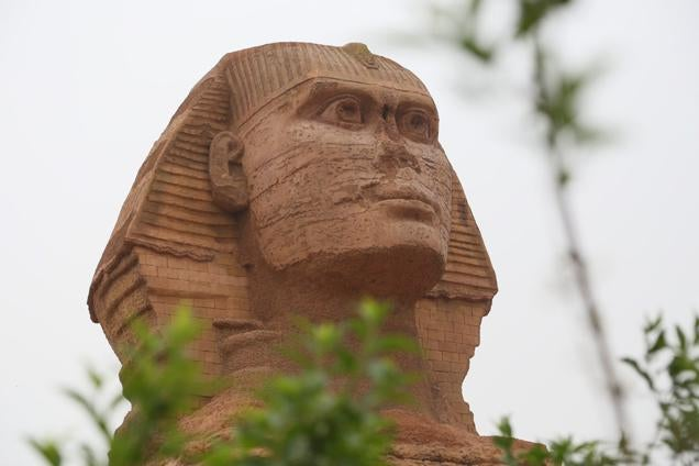 You Can Visit the Sphinx in...China