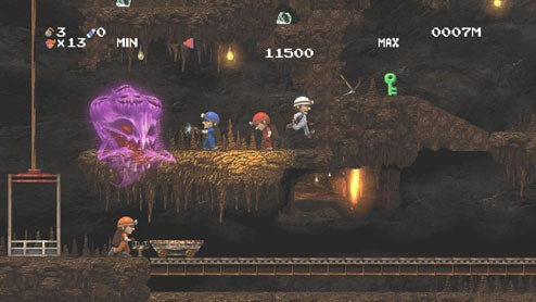 Digging Into Spelunker HD For PlayStation 3