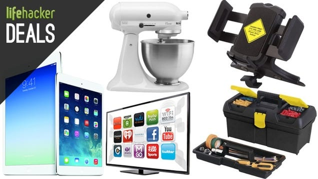 Deals: KitchenAid Mixer, iPads and Macs, Smart TVs, Dash Mounts