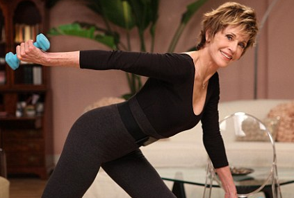 Jane Fonda Workin' It Out at 72