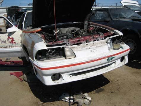 Junkyard Find: 1990 Ford Mustang