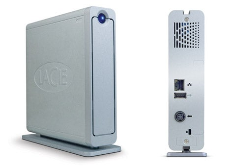 LaCie Ethernet Disk Mini Streams Media, Acts As iTunes Music Server