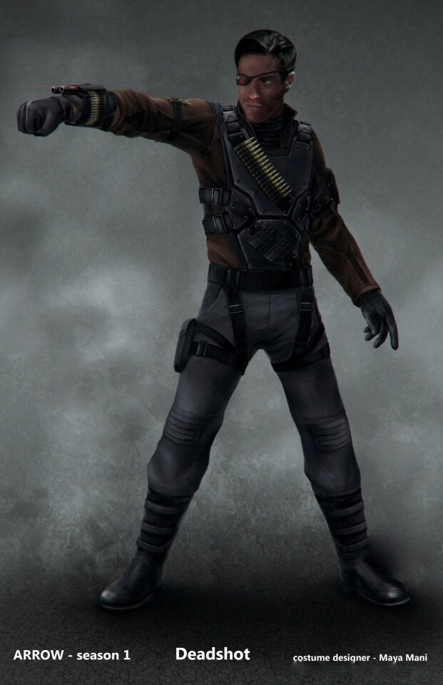 Deadshot Concept Art