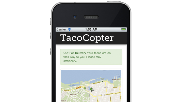 The Tacocopters Are Coming, For Real
