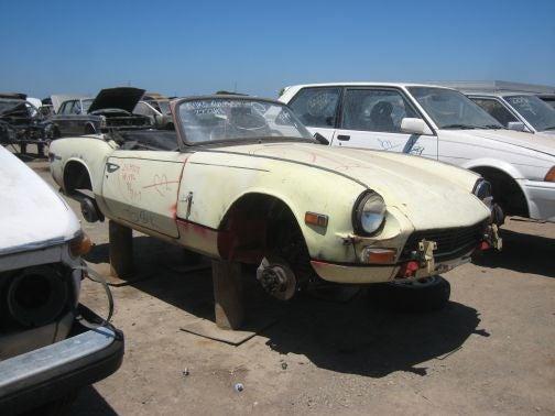 Junkyard Jackpot: BMW 2002, Corolla GT-S, Triumph Spitfire