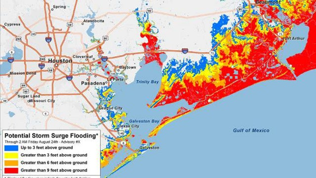New Hurricane Forecast Maps Can Warn You Of Impending Floods