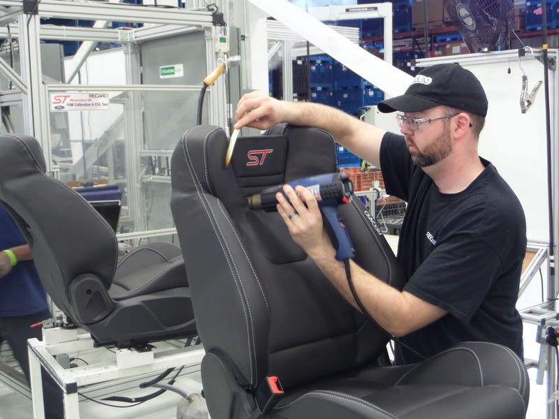 Here's How A Small, Obsessed Army Makes Recaro Seats By Hand