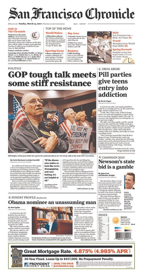 Sunday Papers: Obama Photoshops His Shirt Off and Pill Parties Are Back