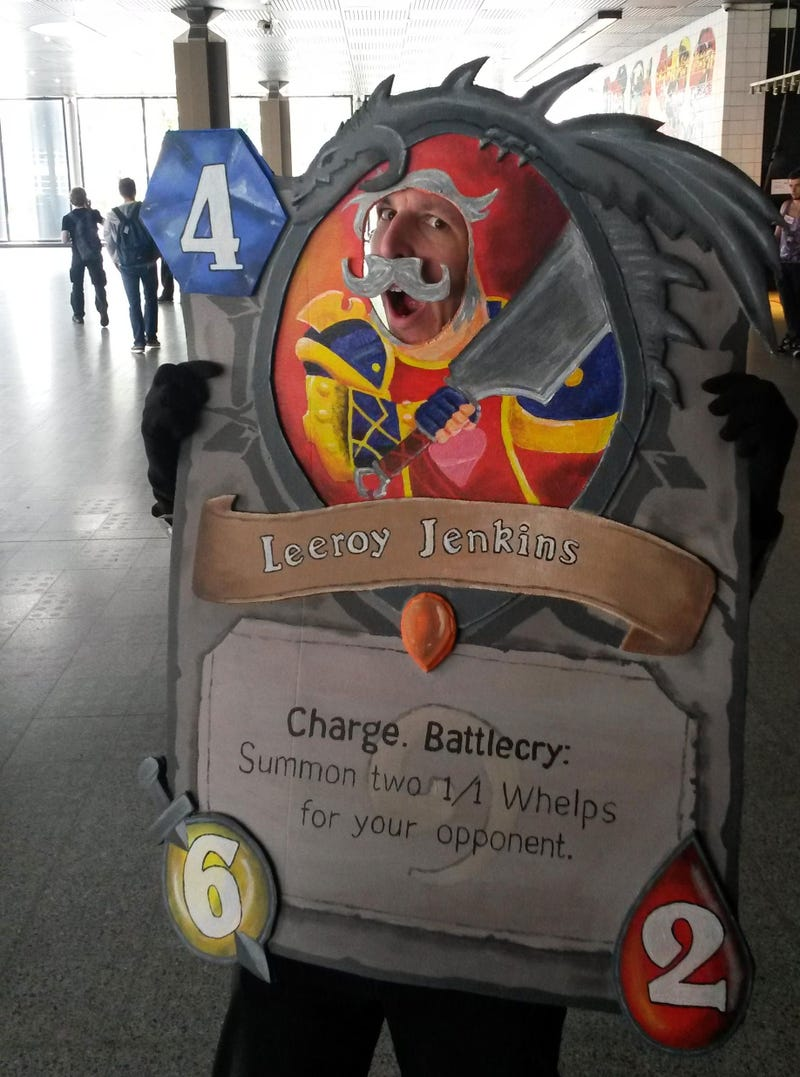 The Very Best Hearthstone Cosplay