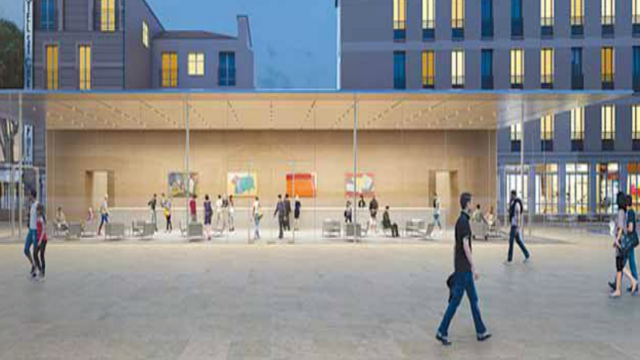 The Newest Apple Store Will Be Almost Invisible