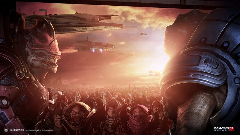 Here's One Of The Guys To Thank For Mass Effect 3 Ending On A Brighter Note