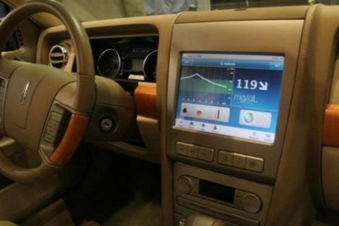 Car Infotainment Turns Med Center With Diabetes Tracking