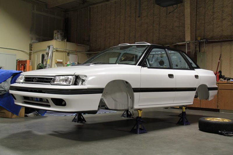 Subaru Legacy RS Type RA Build