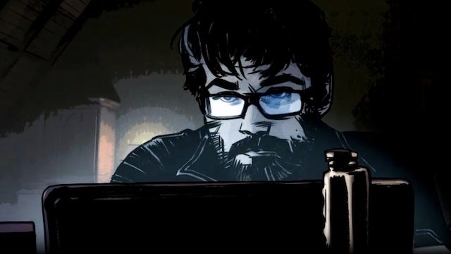Writer's block has a spooky solution in Edgar Wright's new motion comic