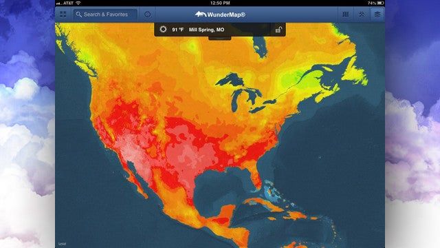 Wundermap for iPad Adds New Layers for Fires, Hurricanes, and More