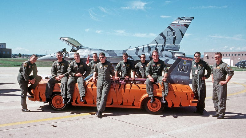 Squadron Cars: The Amazingly Liveried Rides Of Air Combat Units
