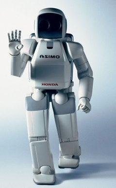 Honda Links Your Dirty Thoughts Directly To ASIMO Robot