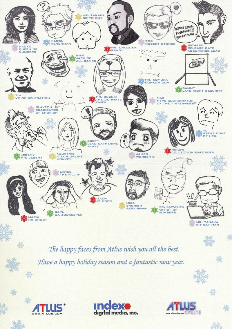 Skyrim's Dragon-Powered Sleigh, Jabba The Snowman: These Are 2011's Gaming Holiday Cards