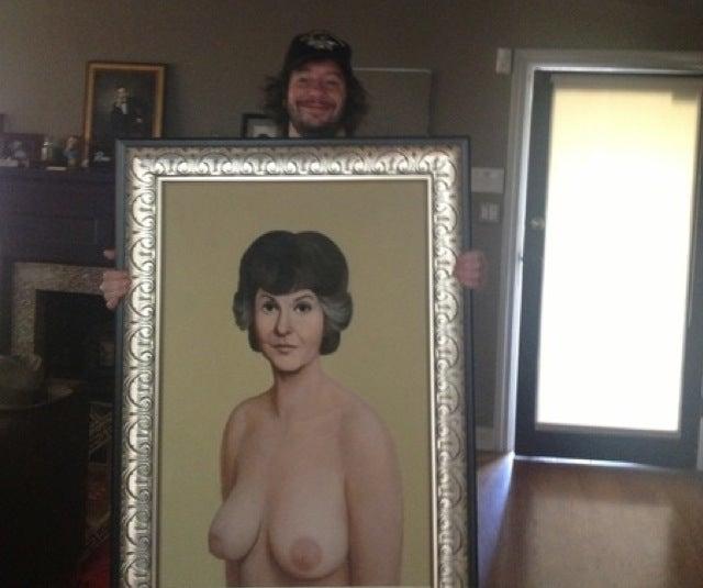 (Update) Jimmy Kimmel Did Not Buy That Nude Portrait of Bea Arthur