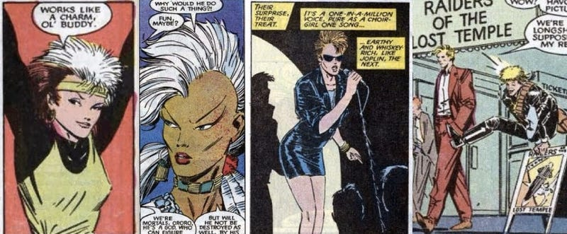 The next X-Men Movie will be set in the 80s -- think of the outfits!