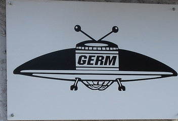 R.I.P. Germ Books, your one-stop shop for science fiction, paranoia and UFOs