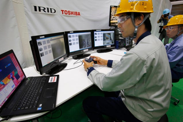 New 'Scorpion' Robot Will Inspect Fukushima Reactor This Summer