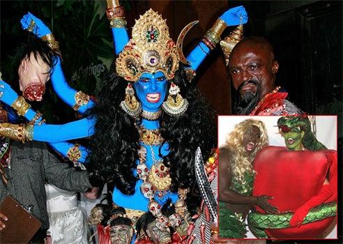 Halloween Overachiever Heidi Klum Upsets Hindus Over Goddess Costume