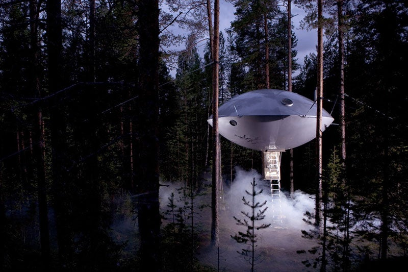Want to live in a spaceship? These houses are for you.