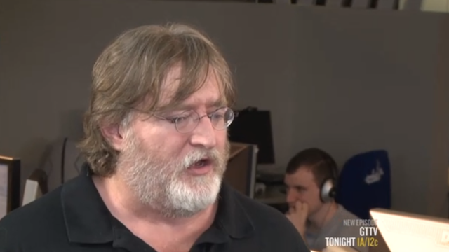 Gabe Newell Hopes He's Wrong About Windows 8