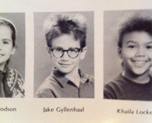 Jake Gyllenhaal's Yearbook Photo