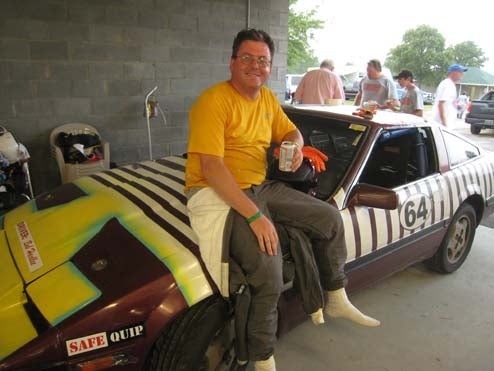 Creator Of Driveshaft-Through-The-Skull Design Takes 8th Place At LeMons South