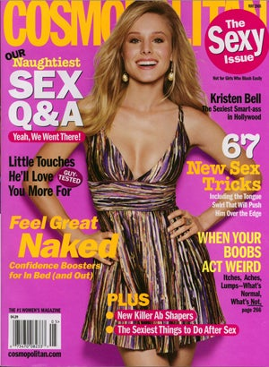 """Well Isn't The Cosmo""""Sexy Issue"""" Just A Sexy Breath Of Fresh Sexual Sexy Sex Air!"""