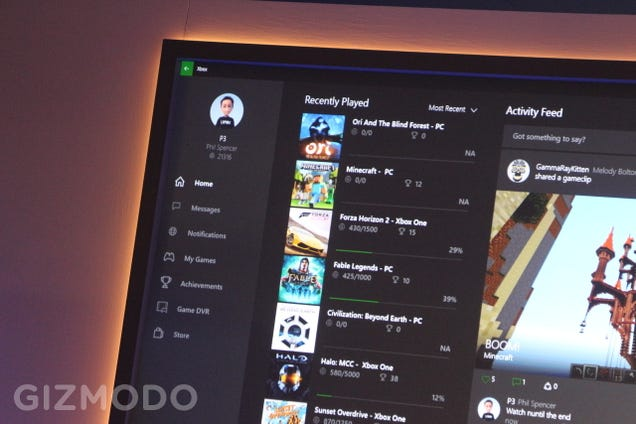 Microsoft's New Xbox App Brings Game DVR and Chat to Your PC