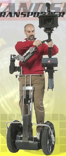 Handsfree Transporter Pwns Segway, Looks Less Geeky