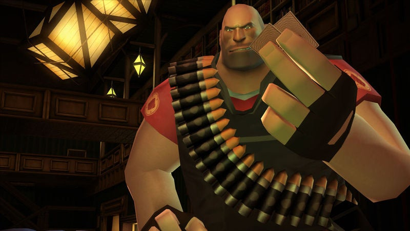 Team Fortress 2's Heavy Finally Playable In... A Poker Game