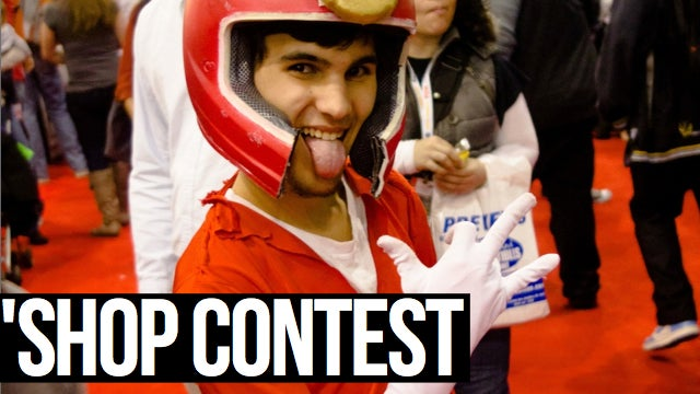 Kotaku 'Shop Contest: Comic-Con Cosplay Extravaganza