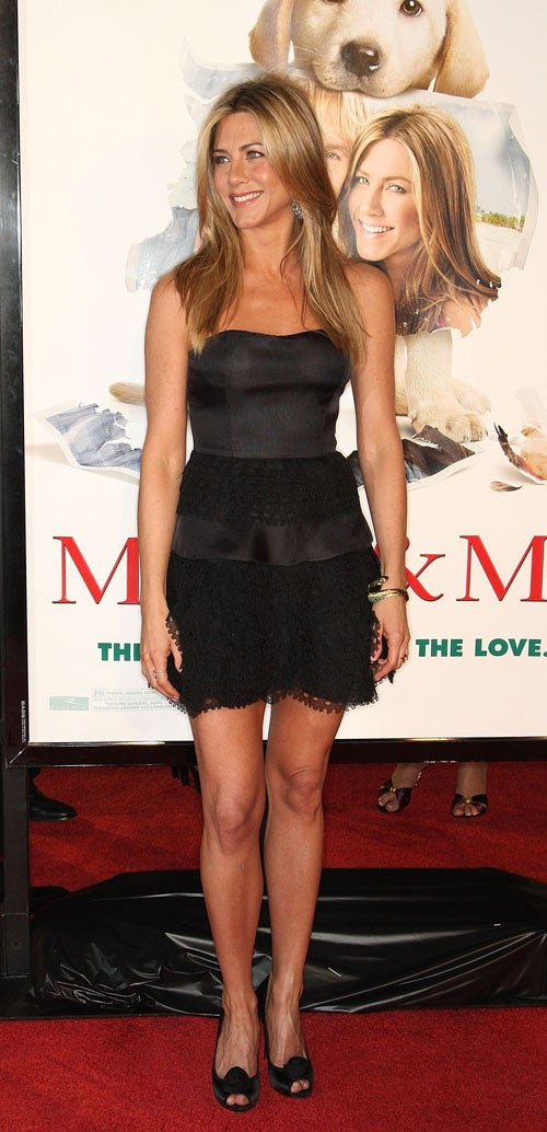 Cute Dogs, Bad Dresses At Marley And Me Premiere