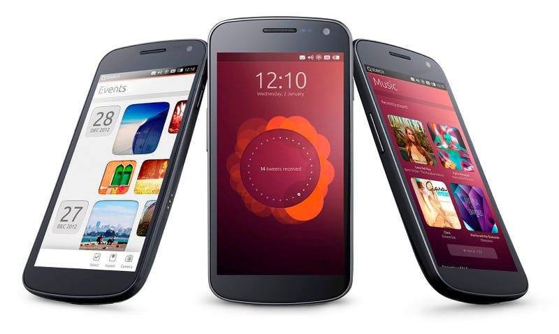 Ubuntu mobile OS estrena el año de los aspirantes al smartphone