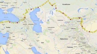 Biking Eurasia: Halfway to Shanghai