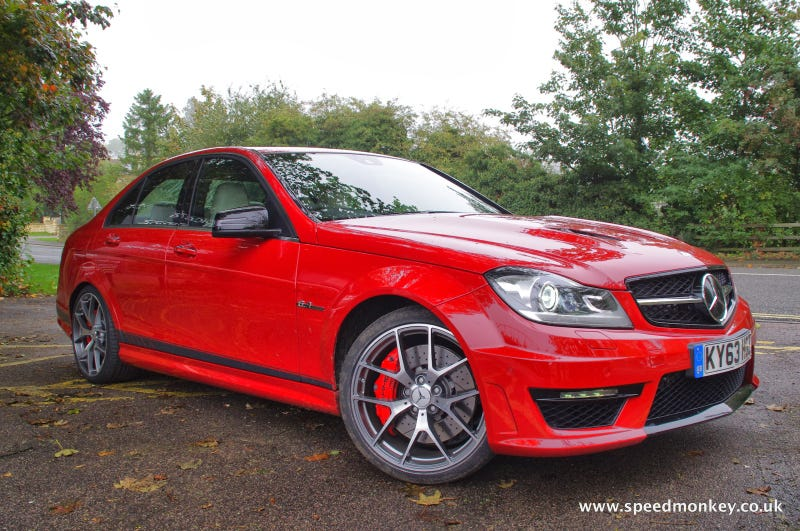 Mercedes C 63 AMG Edition 507 Review