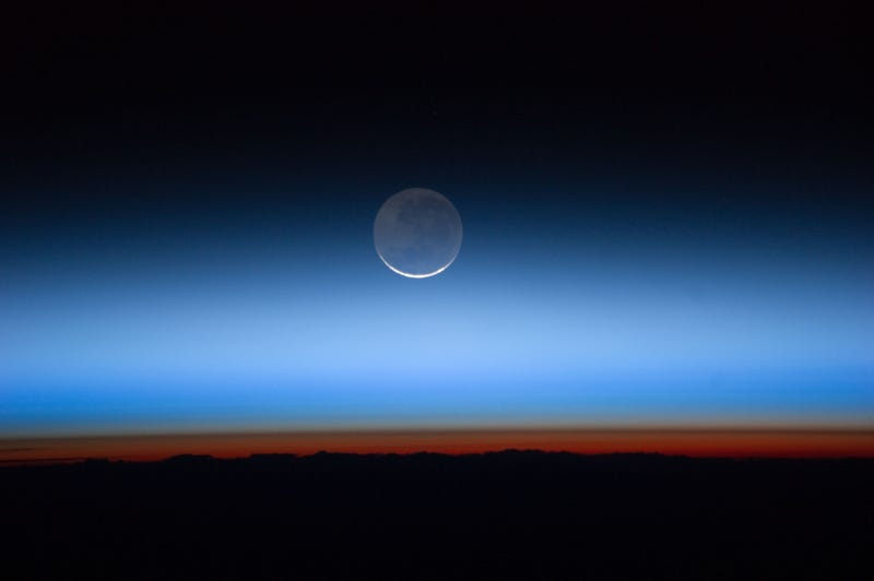 Atmospheric Layers at Sunset
