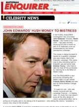 Edwards Mistress' Hush Money: $15,000/Month