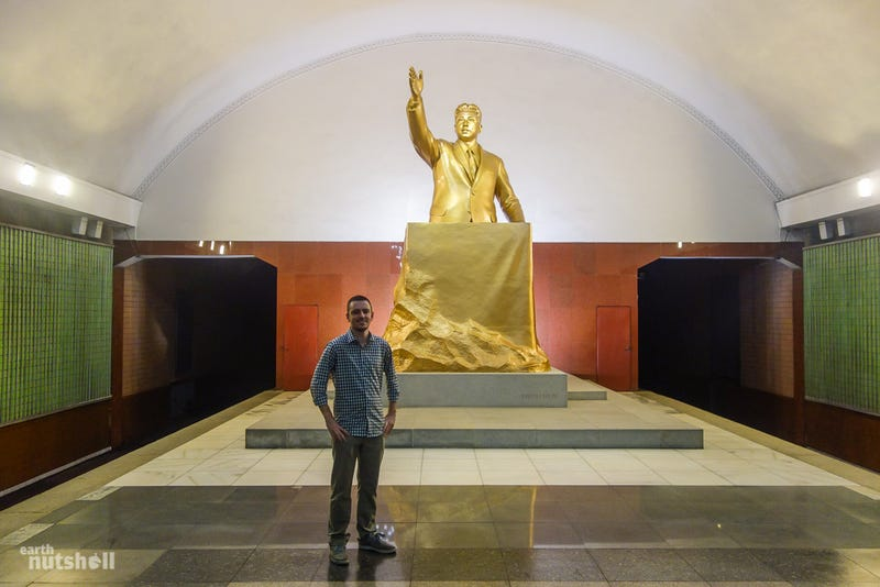 Take a Rare Look Inside North Korea's Secretive Metro