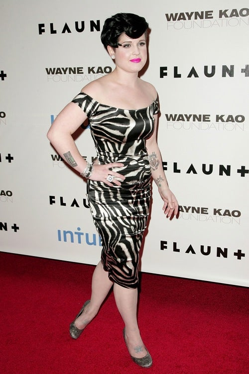 Kelly Osbourne Flaunts It