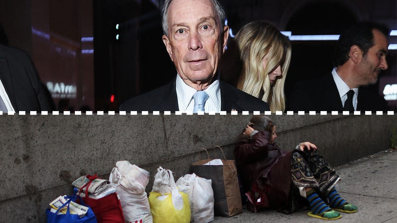 Mike Bloomberg Will Leave the Homeless Worse Off Than He Found Them