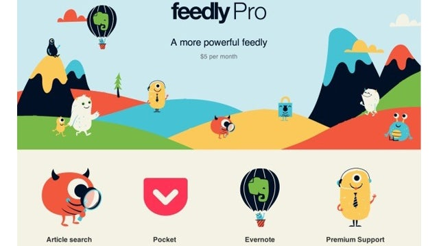Feedly Pro Reopens, Adds Pocket Integration, Makes HTTPS Free