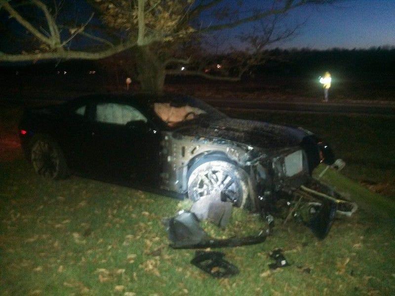 update to First State Chevy crashing customer camaros
