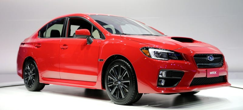 Hell No, The Subaru WRX Hatchback Isn't Really Going To Happen