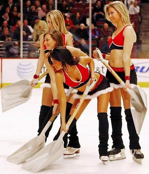 Scantily Clad Women Have No Place On The Ice Unless They're Figure Skating