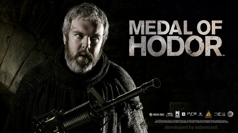 Now I Really Want To Play Medal of Hodor